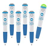 Educational Insights Hot Dots Light-Up Interactive Pen, Set of 6 Pens, Interactive Learning, Compatible with Any Hot Dots Set