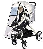 Ultimate Cochecito impermeable universal protector contra la intemperie para silla de paseo cubierta de lluvia para bebé viaje cochecito cochecito accesorio grande carrycots Rain Shield