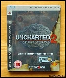 uncharted 2 : among thieves limited edition collectors box steel tin version ps3 playstation 3 (B003VWJ11I) | Amazon price tracker / tracking, Amazon price history charts, Amazon price watches, Amazon price drop alerts
