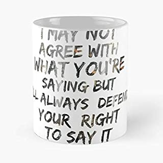 Right First Amendment Second 2a Coffee Mugs Best Gift, Funny Cup