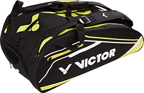 VICTOR Schlägertasche Multithermobag für Badminton, Squash, Tennis, Speed Badminton (gelb)