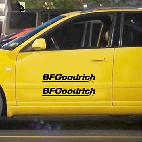 3d aufkleber auto 23cm X 5,1cm Auto Styling Bf Goodrich Reifen Räder Felgen Kappen JDM Trd Auto Aufkleber Funny Car Stickers