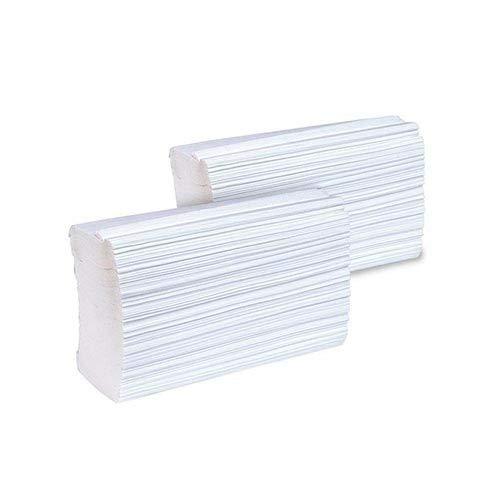 Papel higiénico plegado 100% celulosa 2 capas Clim Profesional. Caja con 7200 uds