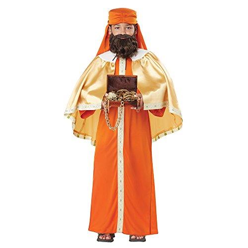 California Costumes Boys Gaspar, Wise Man (Three Kings) Child Costume