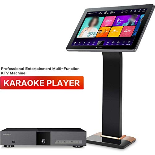 Lowest Price! InAndon karaoke player KV-V5 Pro Karaoke Player,8TB Harddisk,22'' Capacitive White Tou...