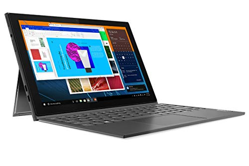Lenovo IdeaPad Duet 3 - Tablet de 13.3' WUXGA (Intel Pentium Silver N5030, 8GB RAM, 128GB eMMc, Windows 10 en Modo S, WiFi+BT 5.0) Lenovo Digital Pen, Gris - Teclado QWERTY Portugués