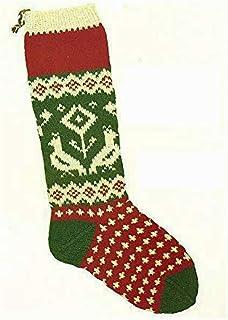 Candide Wool Yarn Christmas Stocking Knitting Kit (106 - Partridge and Pear Tree)