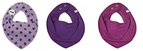 pippi - Foulard - Bébé (garçon) 0 à 24 mois Einheitsgröße - violet - S