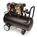 HAIGE エアーコンプレッサー 100V オイルレス 静音 36Lタンク ブラシレス 最大圧力1.2Mpa HG-DC991ver01