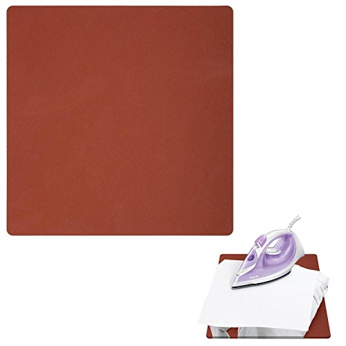 """EDIY 15"""" x 15"""" Silicone Pad - Flat Heat Press Replacement Sublimation Silicone Pad Heat Transfer Mat"""