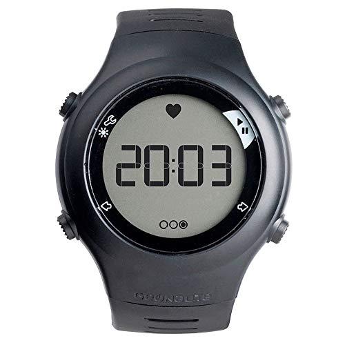 Qiyun - Pulsómetro para Actividades al Aire Libre con Correa para el Pecho, Resistente al Agua, multifunción, para Correr o Hacer Ciclismo