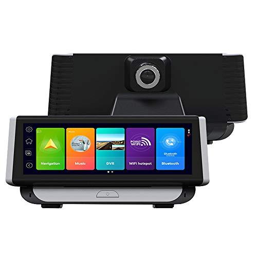 Navegador de registro de conducción 4G, pantalla táctil IPS de 7 pulgadas, WiFi inalámbrico, navegación GPS, función ADAS, sensor de gravedad, grabación en bucle, consola central de coche DVR