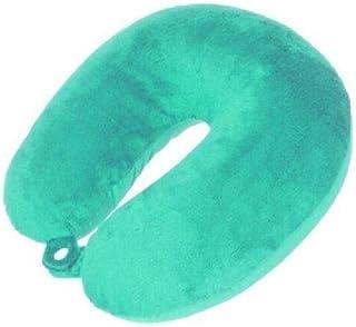 Pro World Coussin de nuque 31 cm Polyester velours 31 cm Turquoise