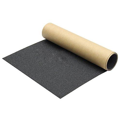 Kamenda 1Skateboard Griptap 110x 27cm, Skateboard Sandpapier, Skateboard Grip Tape Sheet für Skating Board Longboard
