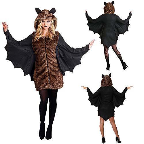 Yalatan 2020 Halloween Horror Fledermaus Geist Kostüm Party Performance Uniform Dress Up Kostüm Europa und Amerika grenzüberschreitende Frauen