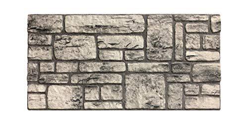 Wandverkleidung in Steinoptik für Schlafzimmer, Wohnzimmer, Küche und Terrasse in Klinkeroptik Look. (ST 230)