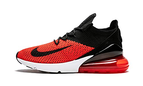 Nike Men's Low-Top Sneakers, Multicolour Chile Red Black Challenge Red White 001, Womens 8