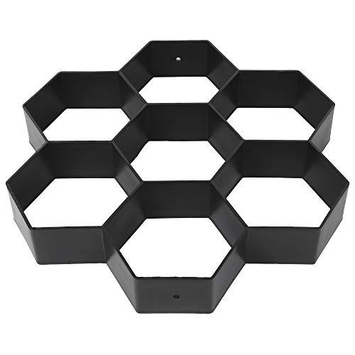 ODOMY Betonform Schalungsform Gießform Pflaster Gehwegplatte Form 30x30 aus Kunststoff für Gehweg Trittstein Beton in Garten