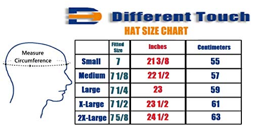 Differenttouch 100% Wool Felt Top Hats Victorian Style Made Hatter 6″ Tall Gentlemen Magic Hats