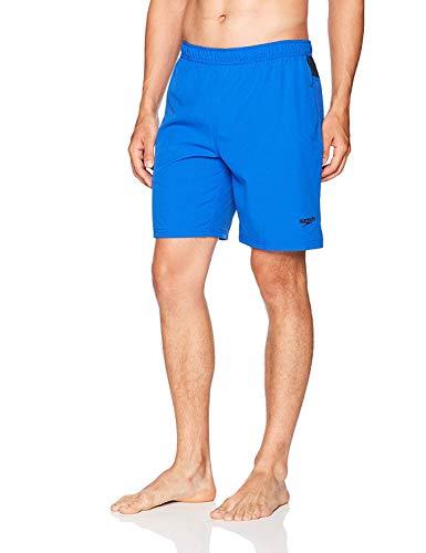Men's Speedo Volley Swim Short, Variety (L, Radiant Blue)
