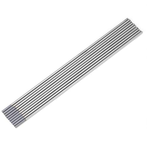 Electrodo de tungsteno gris Cerium WC20 para soldadura de tungsteno, para soldadura TIG, para máquina de soldadura DC TIG(2.0 * 150mm)
