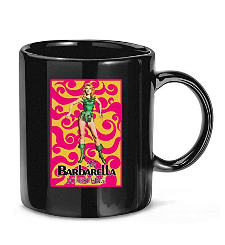 Barbarella Poster Science Fiction Cult Movie Coffee Mug For Women and Men Tea Cups
