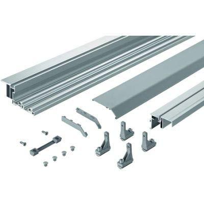 TopLine XL Profilset verstärkt für 1-/2-/3-/4-türige Schränke mit Klipsmontage, 4000