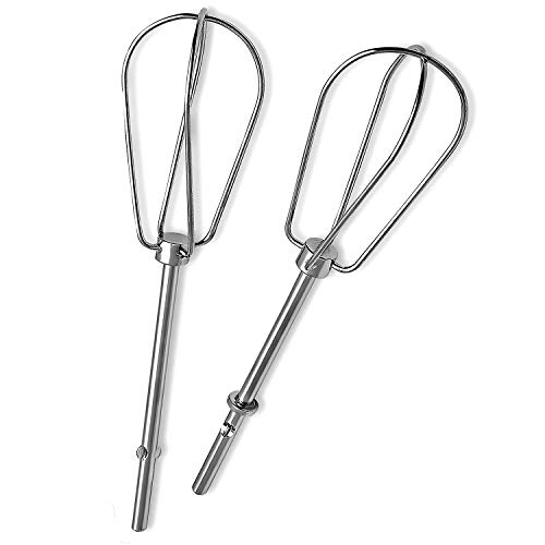 Primeswift W10490648 Hand Mixer Turbo Beaters Replaces for KHM2B,AP5644233,PS4082859,W10490648,KHM5,2Pack