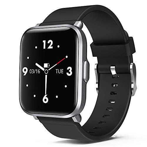 ORYTO Smartwatch,1.3 Zoll DIY Touch-Screen Fitness Armband Uhr mit 18 Sportmodi Fitness Tracker IP68 Wasserdicht Sportuhr Smart Watch für Damen Herren mit Pulsuhr,Schrittzähler,Schlafmonitor,Stoppuhr