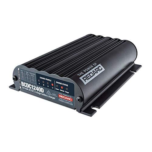 REDARC Dual Input 40A DC-DC Battery Charger