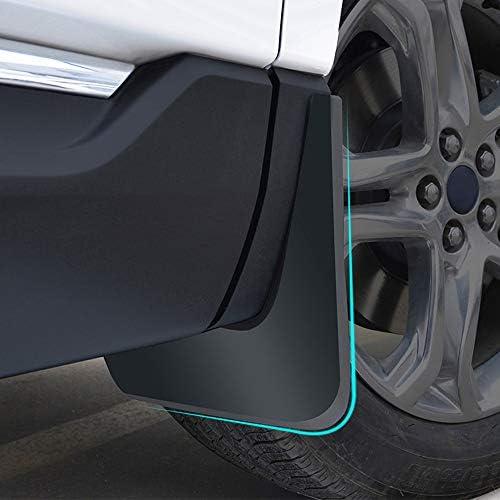Parafanghi per Parafango Auto Aggiornati per Kia K3 2014-2015 Paraspruzzi Anteriori Posteriori Parafango per Auto Styling E Accessori per Il Corpo Nero 4 Pezzi