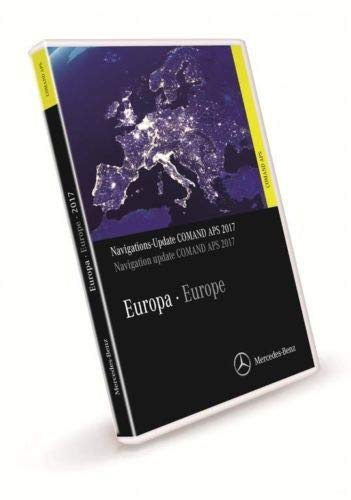 Europe Navigation Update Comand APS - 2016/2017 NTG2.5 A2198272300 extensión de la garantía