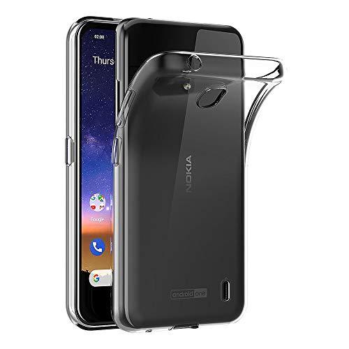 AICEK Hülle Compatible für Nokia 2.2 Transparent Silikon Schutzhülle für Nokia 2.2 Hülle Clear Durchsichtige TPU Bumper Nokia 2.2 Handyhülle (5,71 Zoll)