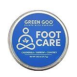 Green Goo Natural Skin Care Salve, Foot Care, 1.82 Ounce Large Tin