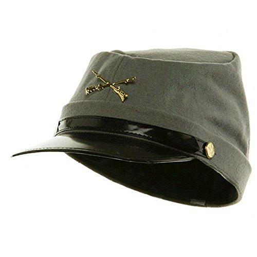 Civil War Wool Lined Kepi Hat