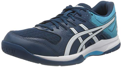 ASICS Herren Gel-Rocket 9 Volleyball Shoe, Mako Blue/White, 46 EU