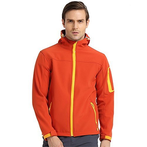 Uglyfrog Bike Wear Fleece Softshell-Jacken Herren Radsport Camping & Outdoor Bekleidung Full Zip Windstopper Autumn/Winter Style 1685