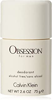 Calvin Klein Obsession Deodorant Stick for Men, 75g