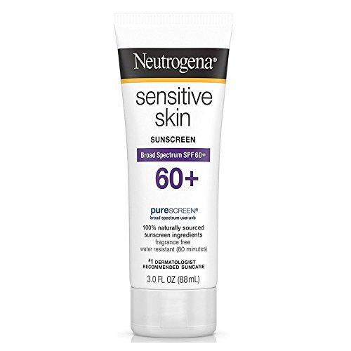 2 x Neutrogena Sonnencreme für empfindliche Haut, Gesichts-Lotion, LSF 60 (schützt empfindliche Haut)