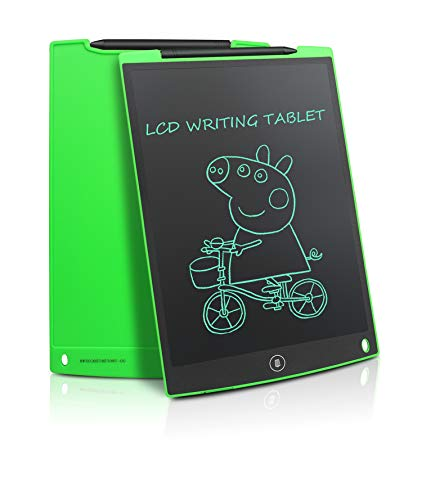 Updated 12 Inch LCD Writing Tablet Doodle Pad Drawing Board Office Whiteboard Fridge Memo ...