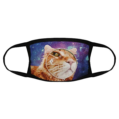 Kinderen Gewone Masker Whiskers Felidae Kleine tot Middelgrote Katten Illustratie Neus Space kleur1 Een Size Sport Gezicht Cover Up