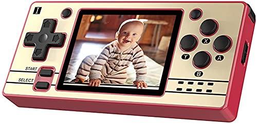 Powkiddy Q20 Mini Retro Konsole, Handheld Spielkonsole 16GB Built-in 2,000 Spiele,Open Source System, 2.4 'OCA IPS Tragbare Retro Spielekonsole für Kinder Erwachsene
