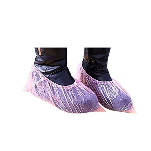 Wegwerp overschoenen Covers Plastic Overschoenen Non-Slip voor Indoor Outdoor gebruik Boot Shoes Protector Bag Zeer geschikt voor Vloer Vloerbedekking 300 stuks beveiligen