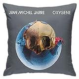 Jean Michel Jarre - Oxygene Electronic Vintage LP Vinyl Underground 80s Music PU Pillowcases, Floor Pillowcases, Pillowcases, Sofa Cushions, Cushion Covers, Backrest Covers, Car Cushion Interiors