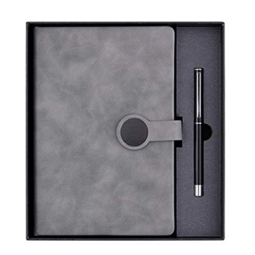 WINON Notebook,Cuaderno, Notebook A5 Conjunto de Regalo Set Business High-Fall Trabajo Oficina DE Oficina por LA Oficina por LA Oficina DE Oficina ESPEZADA por FÁCIL Notable A5 Diario Diario