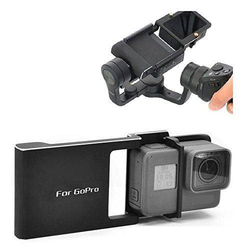 Flycoo piastra adattatore per GoPro Hero 543+ DJI Osmo Handheld Gimbal palmare, interruttore piastra di montaggio per DJI GoPro 543+ mobile Osmo Handheld Gimbal accessori