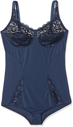 Susa Damen Body mit elastischer Spitze Latina, Azul (Marine 022), 110C para Mujer