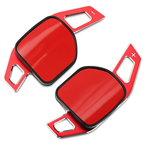 Aluminum Steering Wheel Paddle Shifter Extensions Covers Fit for Audi A3 A4 A4L A5 A6 A7 A8 Q3 Q5 Q7 TT S3 R8