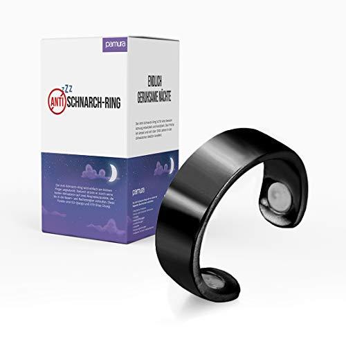 Pamura - Anti Schnarch Ring - Akupressur Ring - für den kleinen Finger - gegen Schnarchen - Schnarch Stopper - TCM Akupressur - für besseren Schlaf