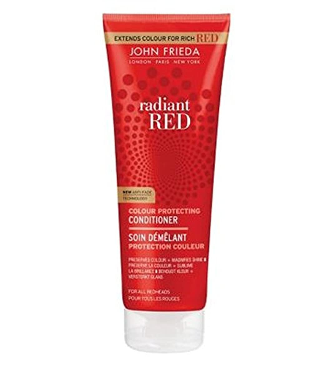 火星促進する無線John Frieda Radiant Red Colour Magnifying Conditioner 250ml - ジョン?フリーダ放射赤色拡大コンディショナー250Ml (John Frieda) [並行輸入品]